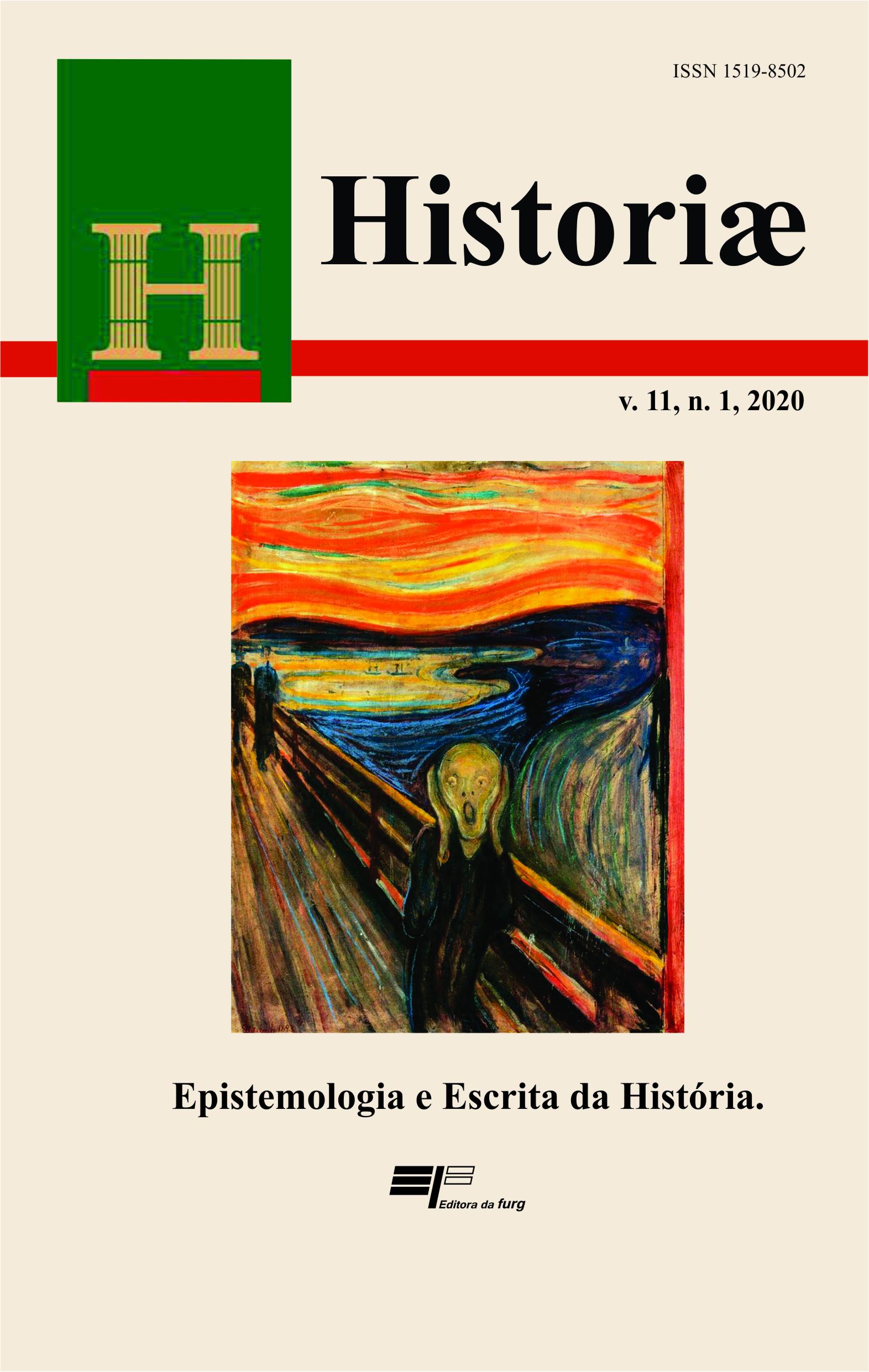 Visualizar v. 11 n. 1 (2020): Epistemologia e Escrita da História