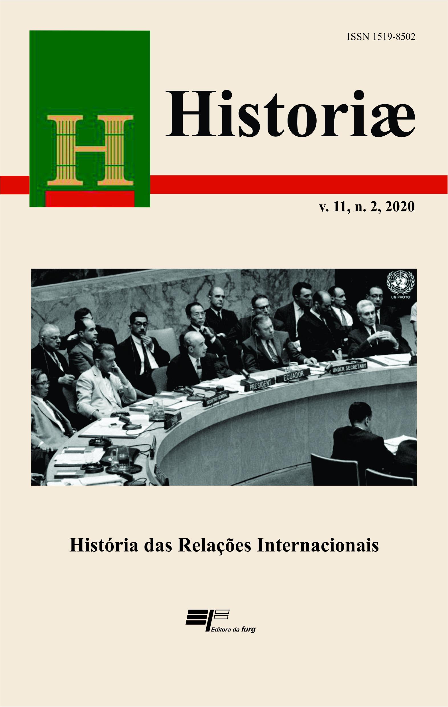 Visualizar v. 11 n. 2 (2020): História das Relações Internacionais