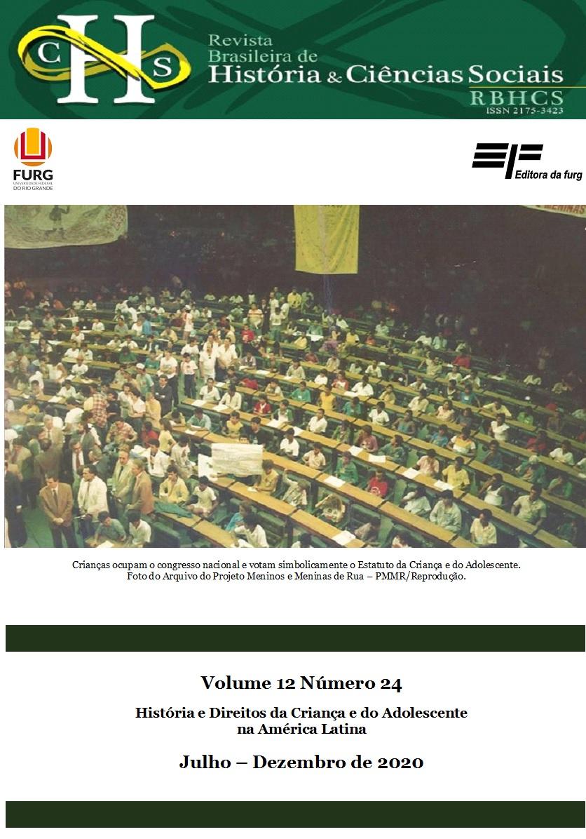 Visualizar v. 12 n. 24 (2020): História e Direitos da Criança e do Adolescente na América Latina (Jul-Dez/2020)