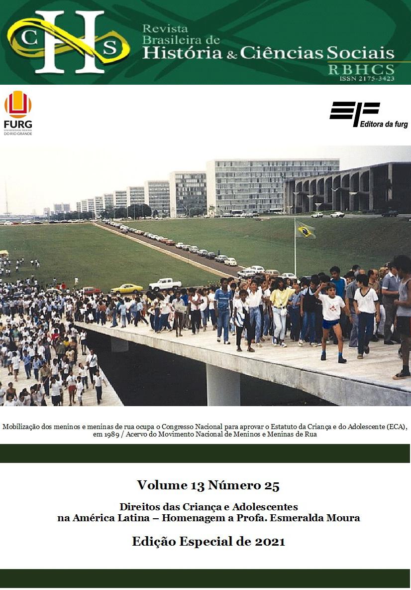 Visualizar v. 13 n. 25 (2021): Direitos das Crianças e Adolescentes na América Latina – Homenagem a Profa. Esmeralda Moura (Edição Especial/2021)
